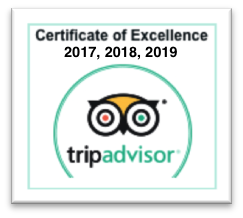 Trip Advisor Certificate of Excellence